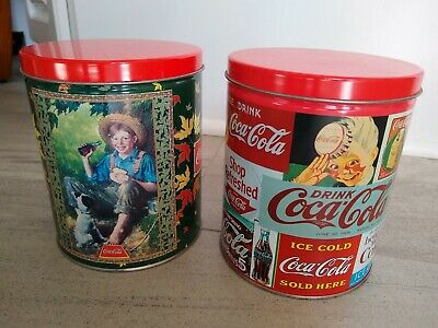 Coca Cola Tins With Puzzles