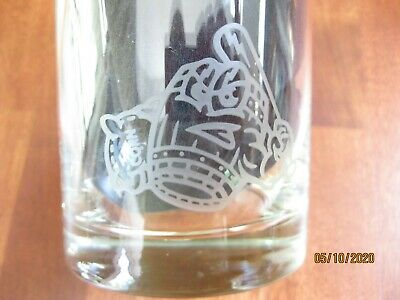 NEW Rare Evan Williams Louisville Bats / Mashers Glass Labor Day Promotion