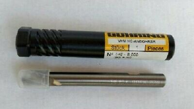 """see pic 8 1//2/"""" long Guhring Solid Carbide Drill 5.205mm diameter"""