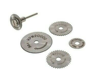HSS SAW DISC SET for Dremel Silverline Rotary Tool Drills accessories