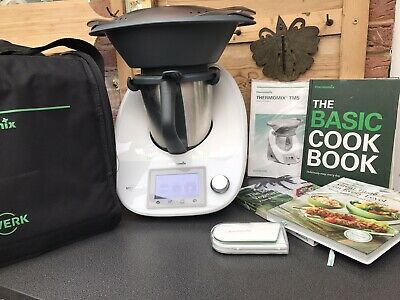 Vorwerk Thermomix TM5  Kitchen Appliance Fully Working + cook-key  2 cookbooks