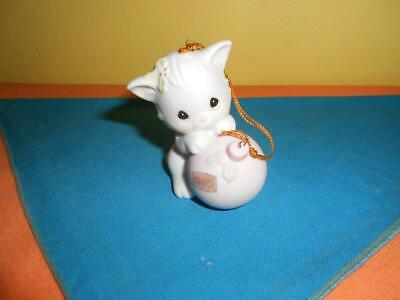 Precious Moments ~Wishing You A Purr-fect Holiday~ Ornament 520497