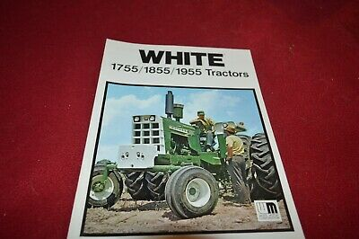 Oliver White Tractor 1955 1855 1755 Tractor Dealer's Brochure TBPA
