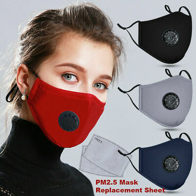 PM2.5 Mouth Cover Dust Washable Reusable Fast Post