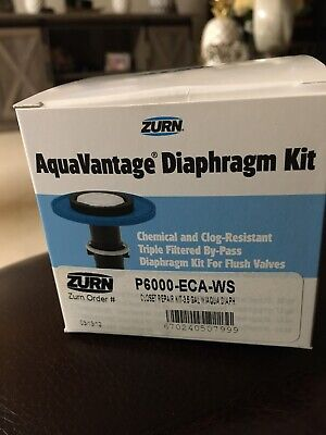 NEW QTY 2 - Lot of Zurn AquaVantage 3.5 Gallon Closet Repair Kit P6000-ECA-WS