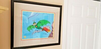 "Wile E. Coyote ""Acme Splatman"" Warner Bros Ltd Ed Cel Hand Signed By Chuck Jones"