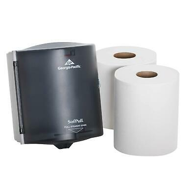 Paper Towel Dispenser Trial Kit Contains 1 Dispenser and 2 Paper Towel Rolls NEW