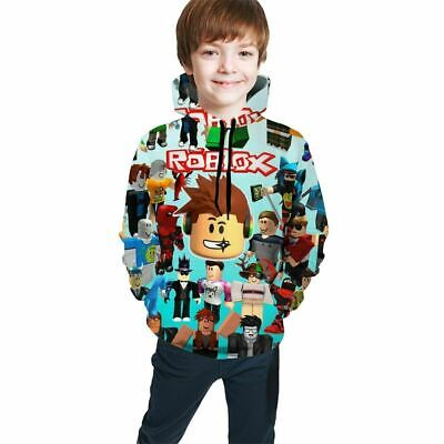 Roblox Game Characters All-Over Print Kids Youth Pullover Hoodies Sweatshirt Hot