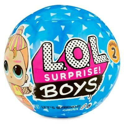 Lol Surprise! Boys Series 2 Character Doll With 7 Surprises *New - Fast Post*
