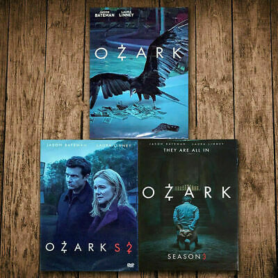 Ozark Season 1 2 3 Complete DVD (9 DVD Set)