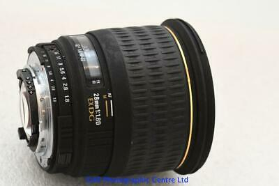 Nikon Digital fit Sigma DG EX 28mm F1.8 Fast Prime Zoom Lens GOOD CONDITION