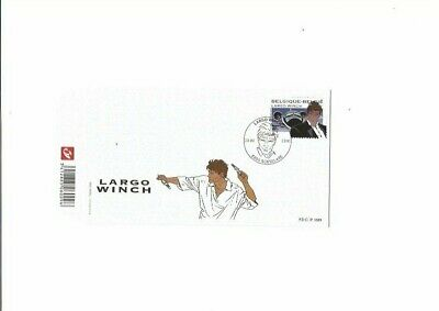 Francq-Van Hamme-Largo Winch- philatélie belge-first day cover-2010