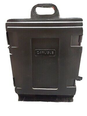 Carlisle Cateraide Insulated Food Container 5 Pan Capacity Black- Preowned/Clean