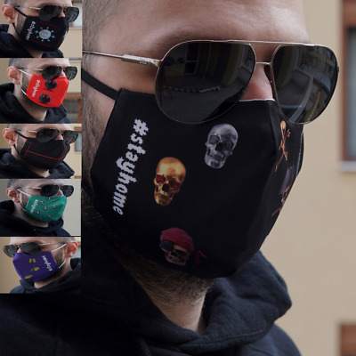Face Mask - Face, Mouth & Nose Protection Mask *Reusable & Washable* UK SELLER
