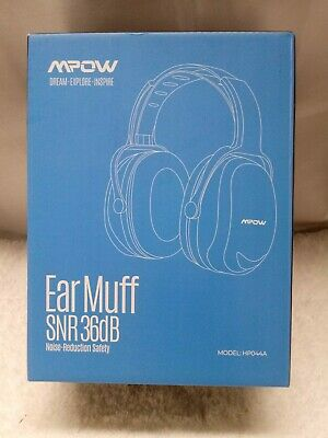 Mpow EarMuffs snr36db noise reduction safety