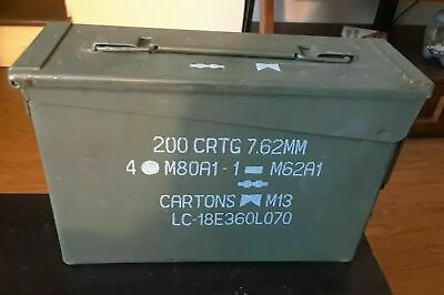 Metal Ammo Box 200 CRTG 7.62MM