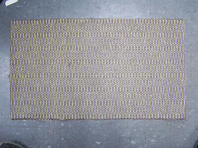 REAL Used Vintage tweed/Gold Radio  Restoration Speaker Grill Cloth Fabric 13x22