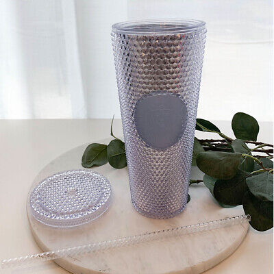 NEW STARBUCKS 2019 Holiday Crystal Studded Limited Edition Tumbler Cold Cup