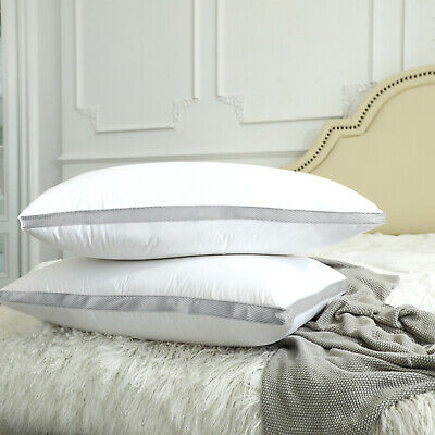 Pack of 4 Throw Pillows Insert Bed and Couch Pillows