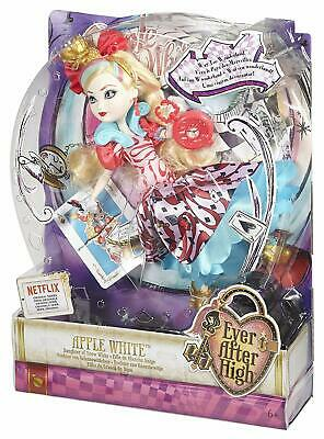 Ever After High Way Too Wonderland - Apple White - Daughter of Snow White NEW