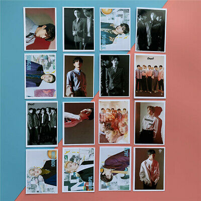 16pcs Set DAY6 Lomo The Book of Us : The Demon Collective Lomocards Photocard