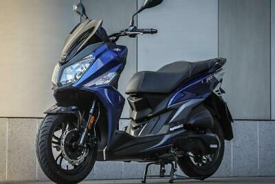 SYM JET 14 AC 125cc Scooter Learner Legal Commuter Moped - FREE CBT OFFER