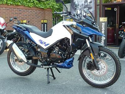 SYM NHT125 Adventure BRAND NW FOR 2019 REG