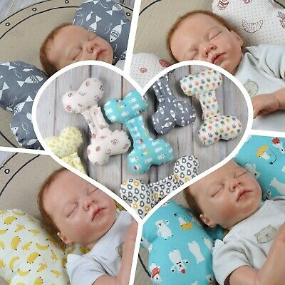 Newborn Baby Cotton Pillow Adjustable size Sleeping Pillow Baby Shower Gift