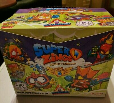 Superzings Rivals of Kaboom Series 5 - 10 Packets