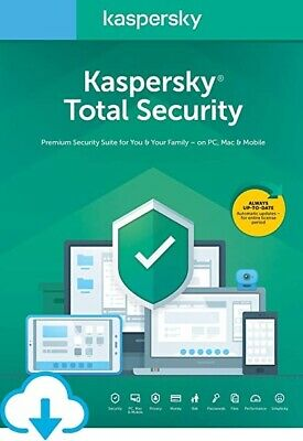 KasperSkys total security 2020 - 1 Device, 1 Year.
