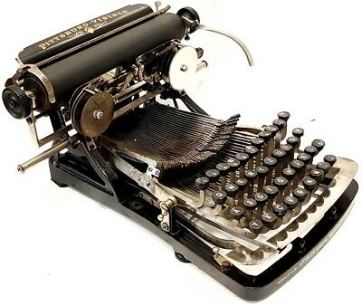 ►Antigua maquina de escribir PITTSBURG VISIBLE rare TYPEWRITER de 1896►