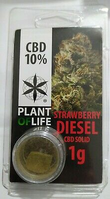Hash fumo light 1 gr Strawberry Diesel legale