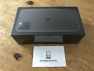 NEW SEALED Apple iPhone 11 PRO MAX 64GB A2218 GREY (EE) 1 YEAR APPLE WARRANTY