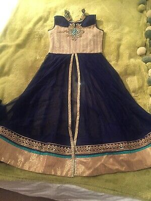 Indian Girls Lengha Dress Outfit 8-10 Years