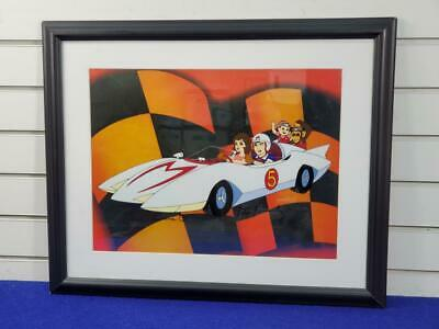 Speed Racer Framed Lithograph - Signed by Corinne Orr & Peter Fernan