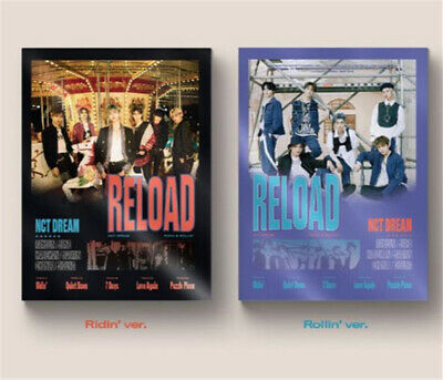 Presale NCT DREAM Reload 4th Mini Album CD+Poster+Book+OF.Poster(On)+2 Card Gift