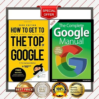 New, 2020 ✅ Google Manual + How To Get To The Top Of Google-Guide to SEO ✅ PDF ✅