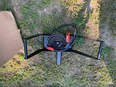 """Warn 26370 Multi Mount Portable 2"""" Receiver Hitch Winch Carrier"""