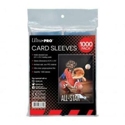 Ultra Pro Card Sleeves Standard Card Sleeves - Clear (1000) MINT