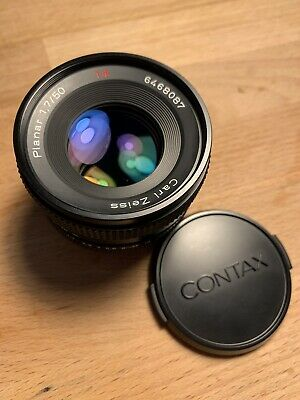 Contax Carl Zeiss T* Planar 50mm f1.7 lens w/ Sony FE/E Mirrorless Adapter Ring