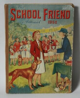 THE SCHOOL FRIEND Annual 1945 HB - £7.99 | PicClick UK