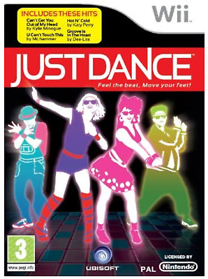 Wii Just Dance Game Series 1, 2, 4 Kids Keep Fit Party Fast Free P&P Immaculate