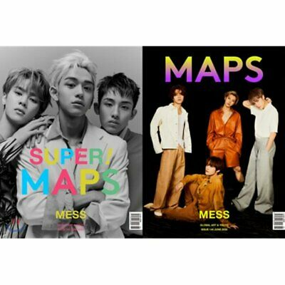 maps Korea June 2020 WayV Cover Whole / Cutout pages + Tracking Number