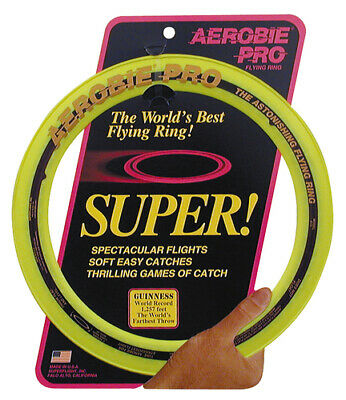 "New Aerobie 13"" Pro Kids Junior Outdoor Flying Ring"