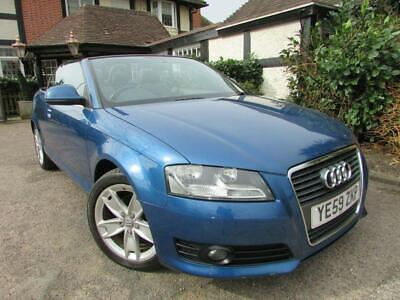 2009 Audi A3 CABRIOLET 1.8 TFSI Cabriolet S Tronic 2dr Auto Convertible Petrol A