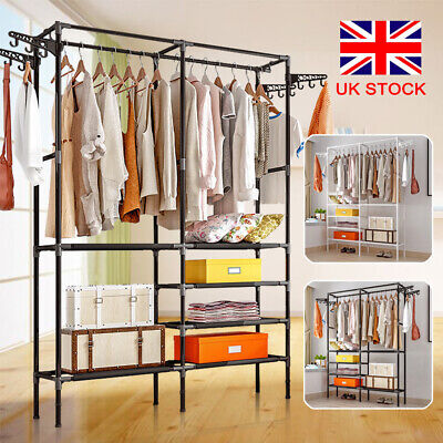 3 Tiers Foldable Clothes Airer Horse Laundry Washing Drying Rack Hanging Garment