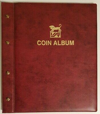 VST Coin album with 5 sleeves - Suits 2x2 holders