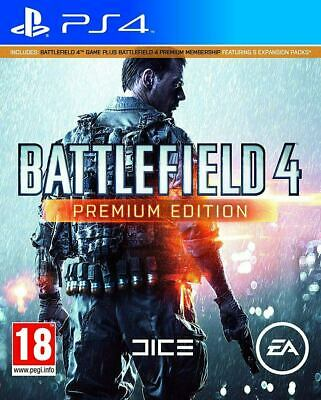 Battlefield 4 - Premium Edition PlayStation 4 PS4 New & Sealed