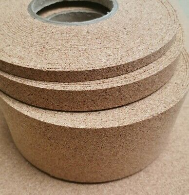 Model Scenic Cork Roll Strips 2Mmthk X 5Mtrs Long, Various Widths Available