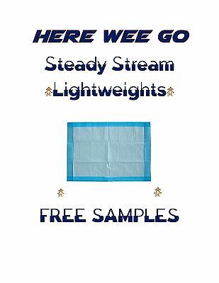"""23x36 """"300ct Steady Stream Economy Lightweight Puppy Piddle Pads Underpads"""